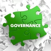 governance text on puzzle pieces