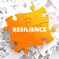 resilience text on puzzle pieces