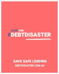 stop the debt disaster promo