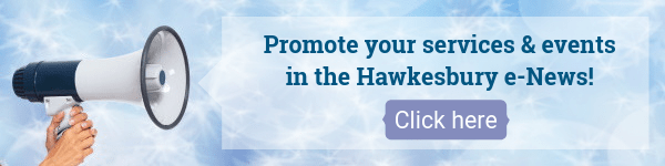 Promote your services events in the Hawkesbury e News